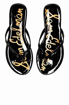 sam edelman oliver flip flop in black flip flops shoes