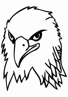 Ausmalbilder Zum Drucken Adler Ausmalbild Adler Mit Grimmigem Blick Zum Ausdrucken