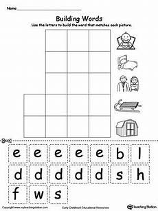 building three letter words worksheets 21021 free ed word family building words worksheet word families word family activities word