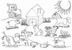 Ausmalbilder Bauernhof Mit Tieren Ausmalbilder Bauernhof Bauernhof Malvorlagen Bauernhof