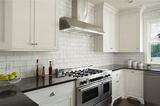 White Tile Backsplash Kitchen How Subway Tile Can Effectively Work In Modern Rooms