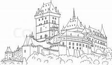 castle stock vector colourbox