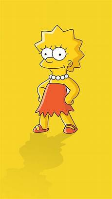 Wallpapers Of The Simpsons minimalistic the simpsons yellow background