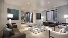 wohnzimmer modern braun brown and white living room