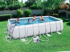 piscine tubulaire rectangulaire 4 88 x 2 44 x 1 22 m 86511