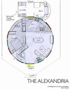 yurt house plans the alexandria like the add on plus a basement floor
