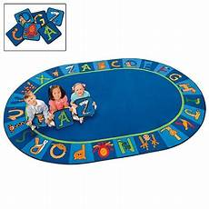 sports worksheets 19204 a to z animals rug oval 6 9 x 9 5