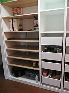 Ikea Pax Units With Komplement Drawers For A Pantry In
