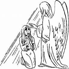 Malvorlagen Engel Quest Engel Segnet Maedchen Ausmalbild Malvorlage Religion