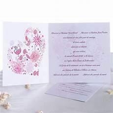 texte faire part mariage cœur th 232 me oiseaux id 233 e