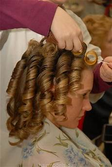mom puts curlers in boys hair i couldn t wait for the rollers to come out they were so uncomfortable but as the ringlets
