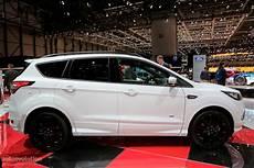 2018 Ford Kuga Shows In Geneva In St Line