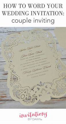 How To Write On Wedding Invitations