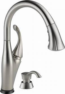 best pull out kitchen faucets review delta 9192t sssd dst bestkitchenfaucetshub