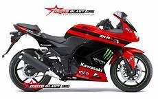 Karbu Modif by Modif Striping Kawasaki 250r Karbu Merah Motoblast