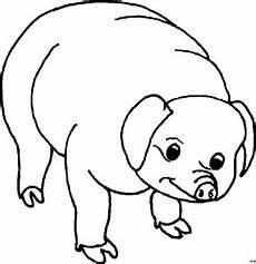 Lustige Schweine Ausmalbilder Schwein 4 Ausmalbild Malvorlage Tiere