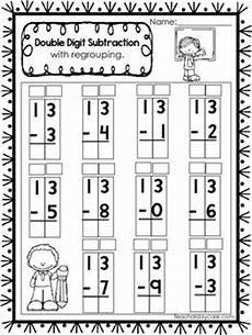 2nd grade math worksheets subtraction with regrouping 10675 50 digit subtraction with regrouping printable worksheets in a pdf file numbers 10 25