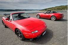 Mazda Mx 5 Na 1991 Vs Mx 5 Nd 2016