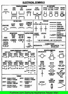 electrical wiring diagram symbols list schematic symbols chart electrical symbols wiring and schematic diagrams in 2019