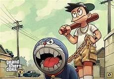 Gambar Nobita Preman
