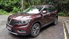 renault koleos 2018 2018 renault koleos all wheel drive in depth review evomalaysia