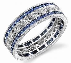 2020 latest sapphire and diamond wedding rings