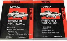 free car repair manuals 1989 toyota truck xtracab sr5 parking system 1989 toyota pickup truck factory service manual set original shop repair factory repair manuals