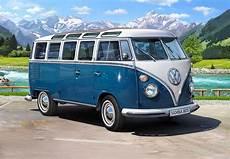 vw t1 samba vw t1 samba 1 16 bausatz revell 07009 volkswagen type