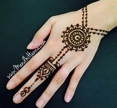 17 Tren Contoh Gambar Henna Yang Simple Dan Bagus
