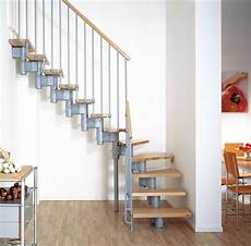 escalier en kit 15170 kompact adjustable staircase kit metal steel and wood spiral staircase fontanot