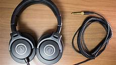audio technica ath m40x headphone review youtube