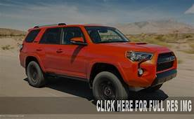 2019 Toyota 4Runner TRD Pro Changes Release Date & Price