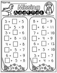 addition worksheets with missing addends 9643 luxury missing addend worksheets for kindergarten worksheet