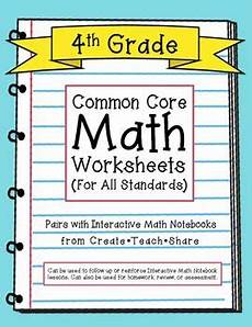 division worksheets 4th grade common 6676 common math worksheets for all 4th grade standards