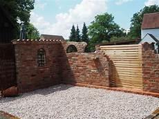 Ruinenmauer Selber Bauen Altpreu 223 Ische Backsteine