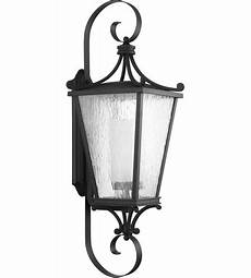 progress p6629 31 cadence 1 light 38 inch black outdoor wall lantern extra large design series