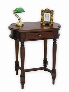 beistelltisch mit schublade beistelltisch telefontisch tisch im antiken stil massiv in