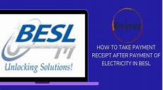 how to take payment receipt after payment of electricity