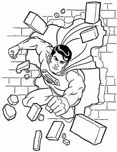 superman ausmalbilder 02 superhelden malvorlagen