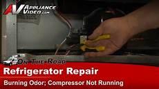 refrigerator repair diagnostic not cooling compressor issue frigidaire electrolux