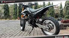 Honda Beat Modif Supermoto by Modifikasi Honda Megapro Supermoto