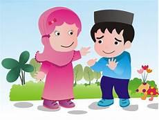 Gambar Kartun Anak Lucu Muslim Dan Muslimah