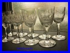 bicchieri baccarat catalogo 10 bicchieri di cristallo baccarat corneille 1916