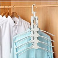 Image result for Space-Saving Clothes Hangers