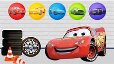 wrong colors paint disney cars 3 lightning mcqueen puzzles games for children youtube