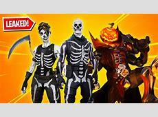 All 13 New HALLOWEEN SKINS in Fortnite! (Skull Trooper