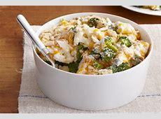 easy cauliflower   broccoli au gratin_image