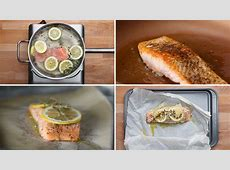 baked salmon fillet recipe