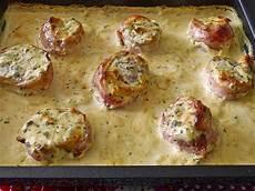Gerichte Mit Schweinefilet - schweinefilet in bacon mit frischk 228 seso 223 e 252 berbacken
