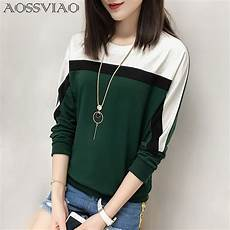 aossviao 2018 autumn winter sleeve t shirt tops
